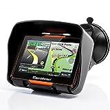 Excelvan W4 - Motorad Navigationsgerät mit 4,3 Zoll Display ( Auto Navigationsgerät, GPS,...