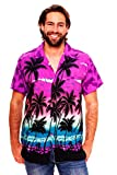 Funky Hawaiihemd, Beach, violett, M