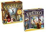 Queen Games 0520 - Fresko Bundle Basisspiel mit Erweiterung 4, 5 und 6