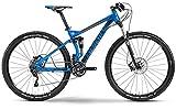 Haibike Impact RC 29' 2014 MTB Fully Hai bike blau/schwarz/grau (Rahmenhöhe 48)