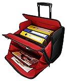 Business Trolley Laptop Tasche Pilotenkoffer Boardcase RAUMWUNDER Notebook Trolleytasche Bürotasche...