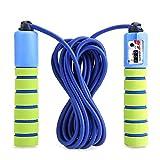 Balala Springseil Speed Rope mit Zähler und Komfortablen Griffen für Sport Training CrossFit und...