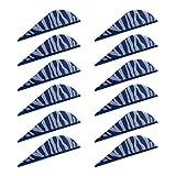Unbekannt MagiDeal 12pcs Bogenschießen Pfeilfedern 2 Zoll Künstliche Feder für Pfeil