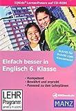 Einfach besser in Englisch 6. Schuljahr: (CD-Rom)