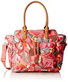 Oilily Damen Carry All Schultertasche, Pink (Pink Flamingo), 15 x 34 x 41 cm