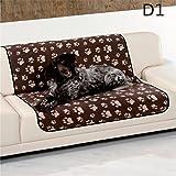 Haustierdecke XL Hundedecke 100 x 70 wasserdicht Unterlage Haustier Decken 3 für Hunde und Katzen Fleecedecke , Design - Motiv:Design 1