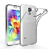 EasyAcc Samsung Galaxy S5 Hülle Case Silikon Transparent Handyhülle Schutzhülle TPU Crystal Clear...