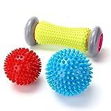 RIGHTWELL Fußmassage für Plantarfasziitis - Muskel Roller & Fußmassage Balls - Schmerzlinderung...