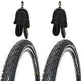 2 x Kenda Reifen Fahrradreifen Pannensicher 28 Zoll 42-622 40C inklusive 2 x Schlauch mit...