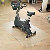 Floordirekt SPORT Bodenmatte / Unterlegmatte für Heimtrainer, Ergometer, Crosstrainer und andere...