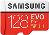 Samsung EVO Plus Micro SDXC 128GB bis zu 100MB/s, Class 10 U3 Speicherkarte (inkl. SD Adapter)...