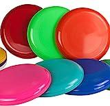Frisbee Disc / Frisbees / Wurfscheiben farblich gemischt 10 Frisbee bunt gemsicht - Nicht geeignet...