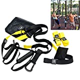Xatan Schlingentrainer Suspension Trainer Kit, 7 Complete Acessories justierbares Übungs-...