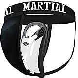 MARTIAL Tiefschutz mit 2 Cup-Größen für perfekten Sitz! Genital-Schutz mit hoher...