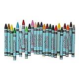 Sharplace 24 Farben Wachsmaler Wachsmalstifte Wachsmalkreiden Crayon Set für Kinder Malerei Zeichnung - 8,7 cm