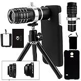 Samsung Galaxy S5 Kamera-Objektiv-Set inklusive eines 12-fach Tele Objektives mit manuellem Fokus /...