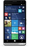 HP Elite x3 (Y1M44EA) Smartphone (15,14 cm (5,96 Zoll) Amoled WQHD Touchdisplay, 64 GB, Dual Sim, Windows 10 Mobile) inkl. Headset, schwarz / silber