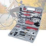 Fahrrad Werkzeugkoffer Werkzeugtasche 44tlg Satz Werkzeug Reparatur Box