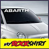 Aufkleber Kit 'FIAT ABARTH' 80 cm', Aufkleber mit Montage Set inkl. 'Estrellina-Montage-Rakel' &...