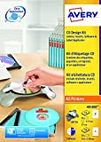 Avery CD Set mit Applikator, Software CD und Etiketten