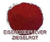 Eisenoxid Pulver Pigmentpulver Farbpigmente für Beton Lehm Keramik | Betonfarbe Bodenfarbe färben...