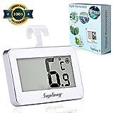 Kühlschrank-Thermometer, SUPLONG Digitale Wasserdichte Kühlschrank Mit Gefrierfach Thermometer Mit...