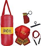 BENLEE Rocky Marciano Kinder Boxing Bag Set Punchy, Schwarz, One size, 199077
