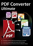 PDF Converter Ultimate - PDFs umwandeln und bearbeiten in Word, Excel, PowerPoint & Co. für Windows...