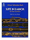J.S. Bach: Suite In B Minor BWV 1067 (Flute/Piano). Für Querflöte, Klavierbegleitung