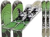 GPO Snowblade 'Breeze' | Kurzski inkl. GC-201-Bindung | 99 cm lang | Qualität aus Österreich