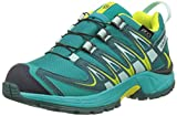 Salomon Kinder XA Pro 3D CSWP, Synthetik/Textil, Trailrunning/Outdoor-Schuhe, Blau, Gr. 38