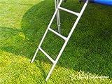 Trampolin mit Sicherheitsnetz, inklusive Leiter und Randabdeckung Gartentrampolin 250, 305, 370, 400, 430cm (14FT / 430cm)