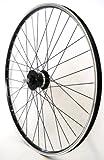 28 Zoll Fahrrad Laufrad Vorderrad Hohlkammerfelge CUT 19 Shimano Nabendynamo DHC30003 Vollachse...