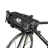 Roswheel 100% Wasserdicht Fahrradlenkertasche Einstellbarer Volumen 3L bis 7L Fahrradtasche für den...