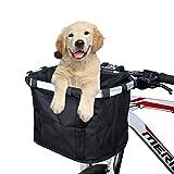 ANZOME Fahrradtaschen am Lenker für Mountainbike MTB Frontrahmen Tube Lenker Bike Basket Unisex...