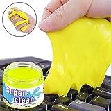 Tastatur Reiniger, GOMAN Home & Office Reinigungsmasse für Ihren PC, Tastatur, Handy und andere Dinge des Alltags(160g im Pop-up Becher) - Zufällige Farbe