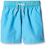 Miami Beach Swimwear Jungen Badeshorts in Unifarben, Blau (Scuba Blue 620), 116