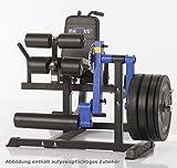 Maxxus Multi Trainer Pro - Beinstrecker, Beinbeuger, dicke Polsterungen, für Hantelscheiben mit...