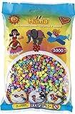 Hama 201-50 - Bügelperlen, circa 3000 Perlen, pastellmix