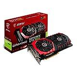 MSI NVIDIA GTX 1060 Gaming 6G Grafikkarte (HDMI, DP, DL-DVI-D, 2 Slot Afterburner OC, VR Ready, 4K-optimiert)