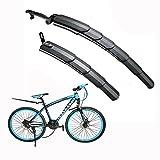 Itian Fahrrad Kotflügel Schutzblech,Einstellbar Reifen vorne&hinten Kotflügel,schutzt vor...
