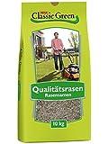 Classic Green Rasensaat Mischung zum Begrünen Rasensaat 10kg  Grassamen   Rasensamen 10kg   Premium Rasensaat   Rasensaat Mischung zum Begrünen   Rasensaatgut   Rasensaat zum Begrünen  Rasen Grassamen Mischung
