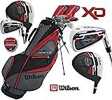 Wilson Profile XD Golfset, Herren, komplett, Graphit, Deluxe, Standbag