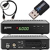 Anadol HD 200 Plus HD HDTV digitaler Satelliten-Receiver (Wifi, HDTV, DVB-S2, HDMI, SCART, 2x USB...