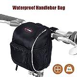 Fahrradtasche, lc-dolida wasserdicht Lenkertasche für Mountainbike MTB Bike Tasche Regenschutz...