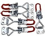 5x Einstellbare Kniehebelspanner 100KG/220lbs Schlösser Verriegelung