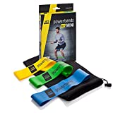 Powerbands Erwachsene Set Mini Gymnastikband, Bunt, One Size