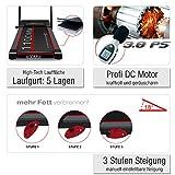 Sportstech F15 Laufband mit Smartphone App Steuerung, Bluetooth, 3 PS, 12 KM/H, 17 Programme und...