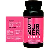 F BURNER WOMAN - mit Garcinia Cambogia, Acetyl-L-Carnitin, Grüner Tee Extrakt, Grüner Kaffee...