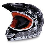 Motorradhelm Kinder Cross Helme Sturzhelm Schutzhelm Helm für Motorrad Kinderquad und Crossbike in...
